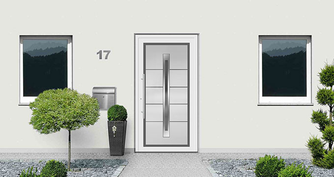 Rodenberg dream door configurator  entrance door from glass