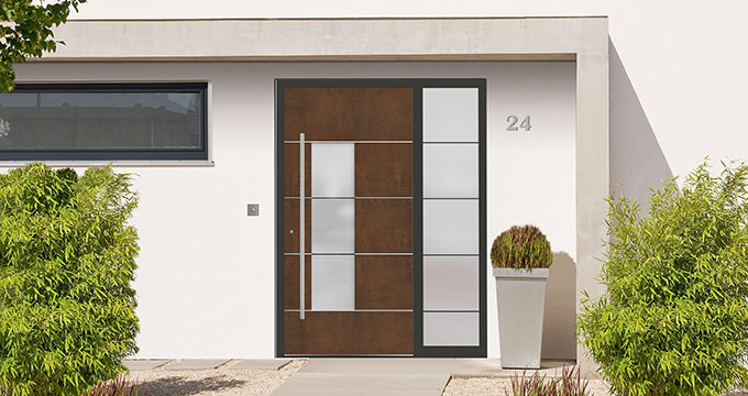 Rodenberg dream door configurator entrance door series Exclusive Art-Corten